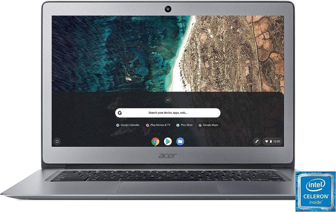 "Acer Chromebook CB3-431-C64E Ordinateur portable 13,9"" Full HD Gris (Intel Celeron, 4 Go de RAM, 32 Go eMMC, Intel HD Graphics, OS Chrome)"