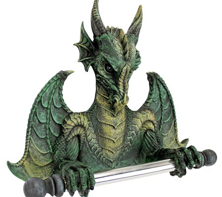 Dragon Fancy Toilet Tissue Holder