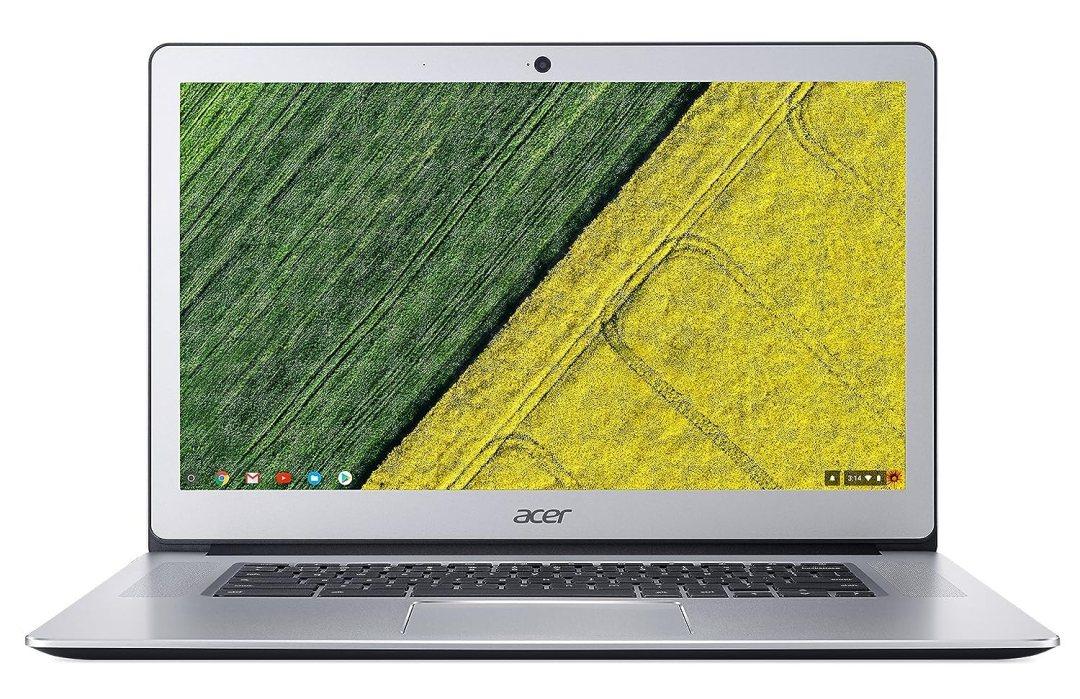 "Acer Chromebook CB515-1HT-P80X Ordinateur portable Tactile 15,6"" Full HD Silver (Intel Pentium, 4 Go de RAM, 32 Go eMMC, Intel HD Graphics, Chrome OS)"