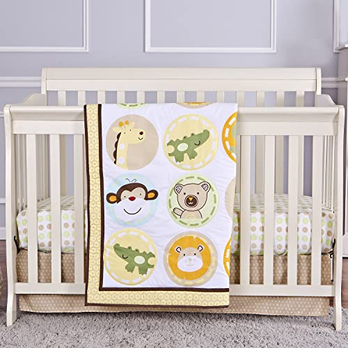 Dream On Me Animal Kingdom 3 Pc Crib Set