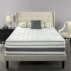 Zinus 14 inch memory foam hybrid mattress