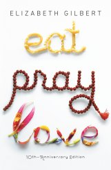 Eat Pray Love cover reading in April