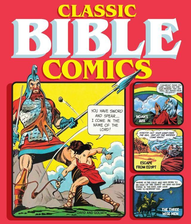classic bible comics cover