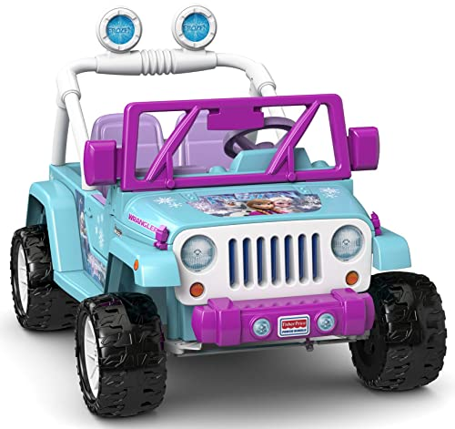 Best 12 Volt Ride On Girls Power Wheels Disney Frozen Jeep Wrangler