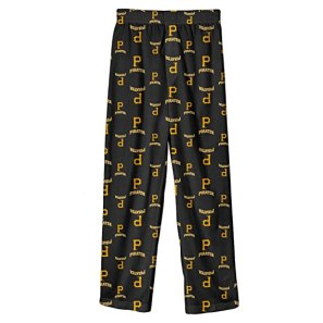 Outerstuff MLB Infant/Toddler Boys' Pittsburgh Pirates Printed Pant (Black, Large/4T)