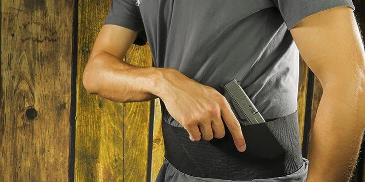 Four Way Belly Band Gun Holster