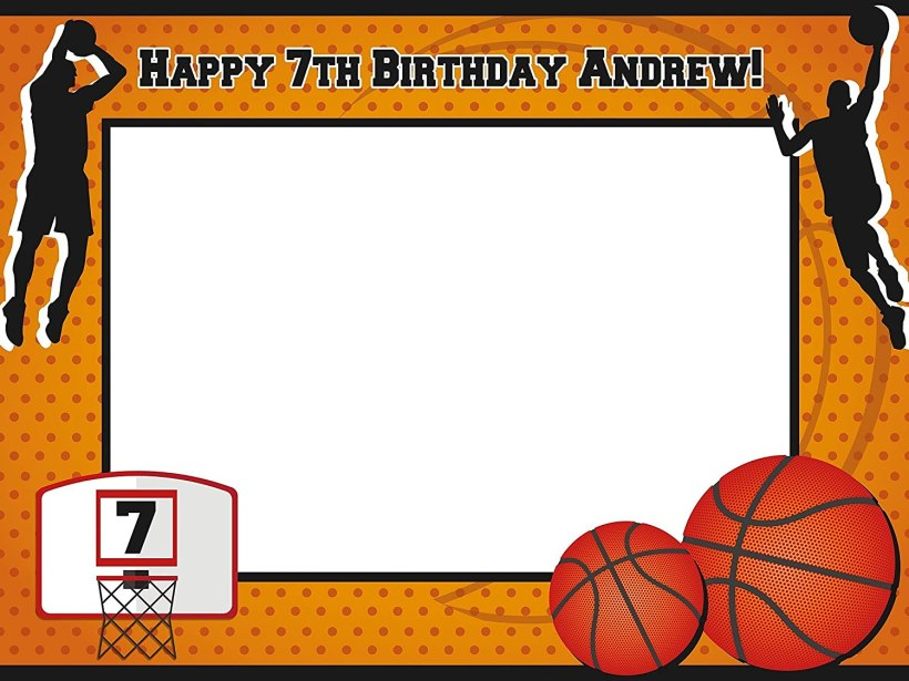Basketball Photo Booth Frame   Allcanwear.org