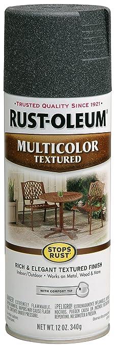 Rust Oleum 223525 Multi Color Textured Spray Aged Iron 12 Ounce