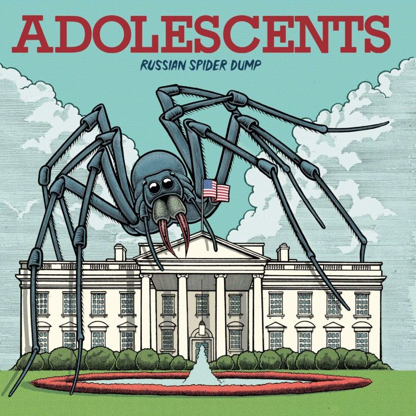 The Adolescents - Russian Spider Dump - Amazon.com Music