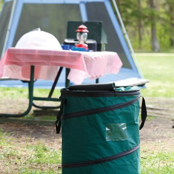 An extensive list of everything you'll need, gear, and necessities for setup and camping in an RV trailer or camper with the family. Camping With Kids | Family Travel | RV Trailer | RV Setup | Camping Trailer | Camper | Family Camping | Camping List | RVing With Kids |