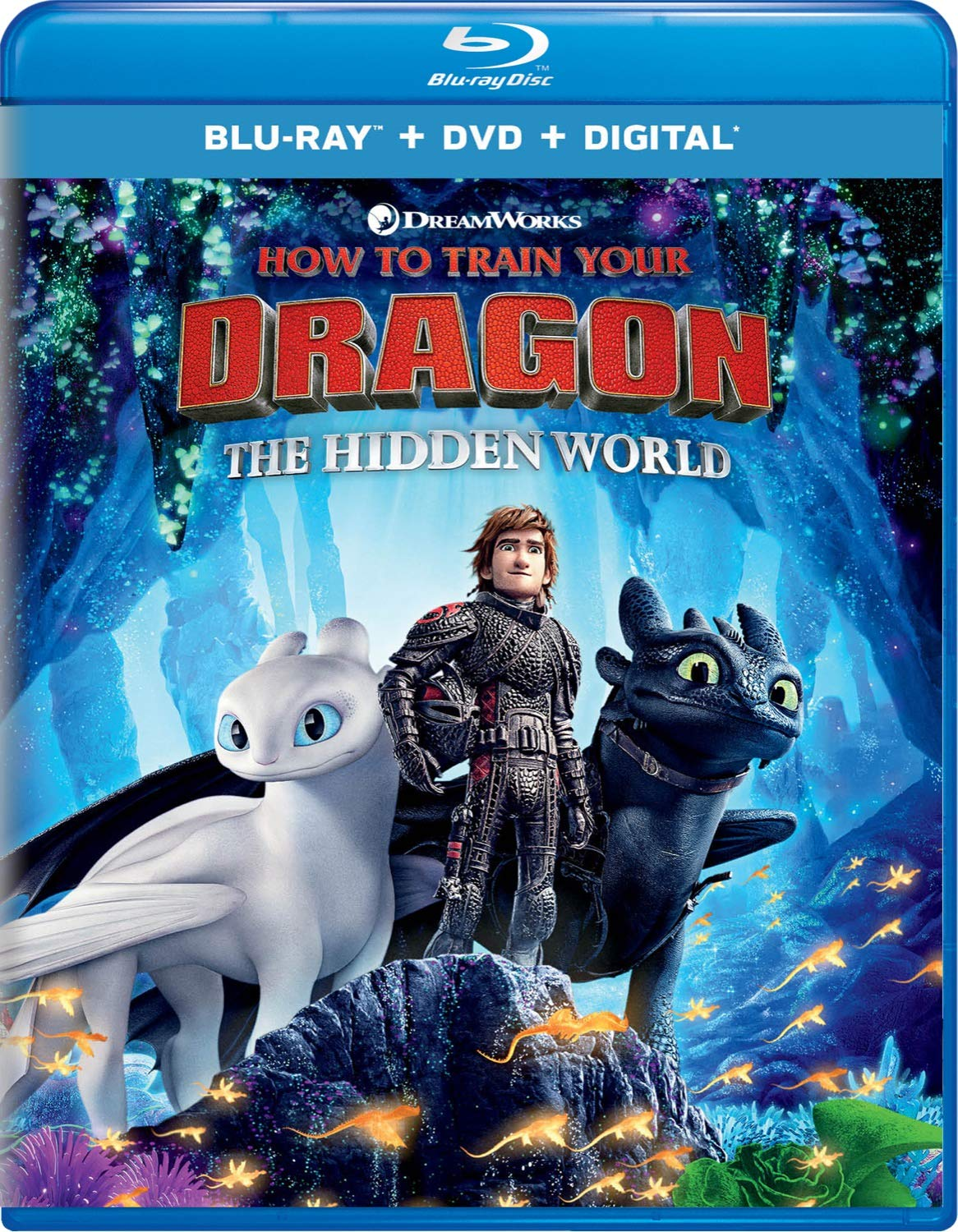 Amazon Com How To Train Your Dragon The Hidden World Blu Ray Jay Baruchel America Ferrera Cate Blanchett Gerard Butler Jonah Hill Craig Ferguson Kristen Wiig F Murray Abraham Kit Harington Christopher Mintz Plasse Justin