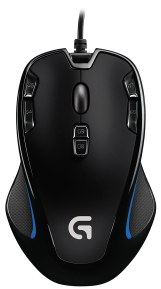 Logitech G300s Optical Gaming Mouse (USB, Black) At Rs.799/- Only. [MRP – Rs.2,295/-]