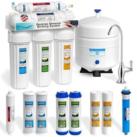 Express Water 5 Stage Undersink Reverse Osmosis Drinking Water Filtration System