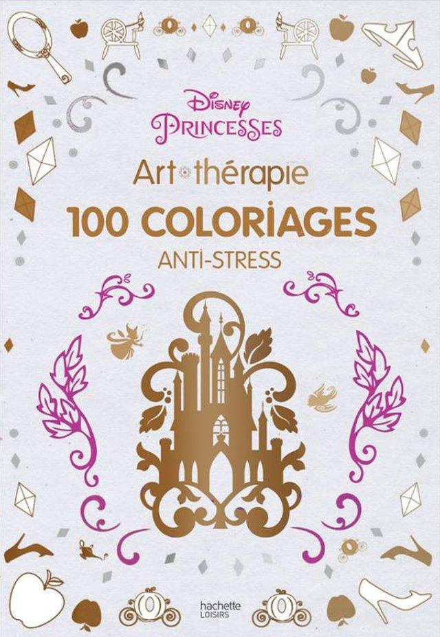 Princesses - Disney: 19 coloriages anti-stress : Disney: Amazon