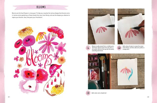 Colorways: Watercolor Flowers Book Review 4