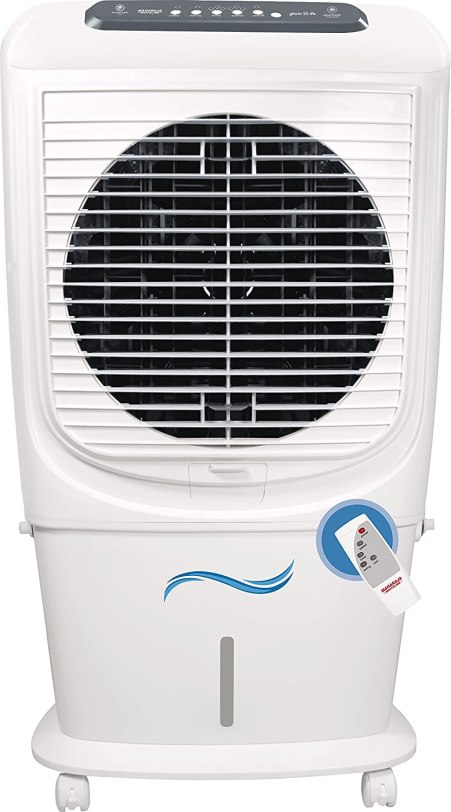 2. Maharaja Whiteline 65 L Room/Personal Air Cooler (White, Black, Hybridcool 65 Remote)