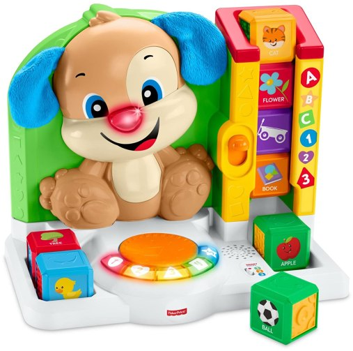 Image result for Fisher-Price Laugh and Learn First Words Smart Puppy amazon