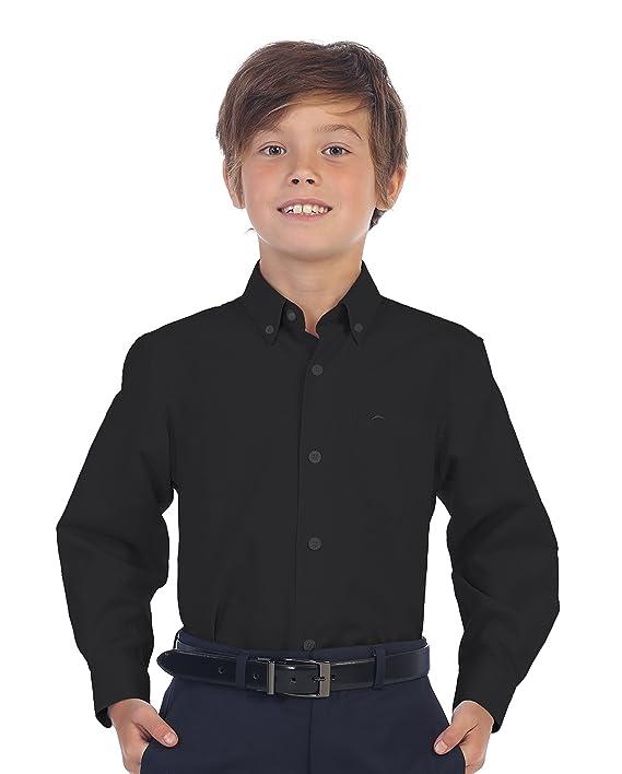 Camisa elegante color negro para niñoshttps://amzn.to/2KZ0uU9