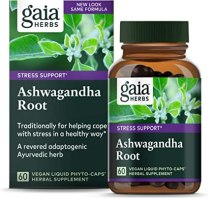 Amazon.com: Gaia Herbs, Ashwagandha Root Vegan Liquid Phyto Capsules - Stress Relief, Immune Support Supplement, Balanced Energy Levels and Mood , 60-Count (Pack of 1): Health & Personal Care