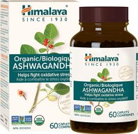 Amazon.com: Himalaya Organic Ashwagandha, Natural Stress Relief, Energy Supplement, 670 mg, 60 Caplets, 2 Month Supply: Health & Personal Care