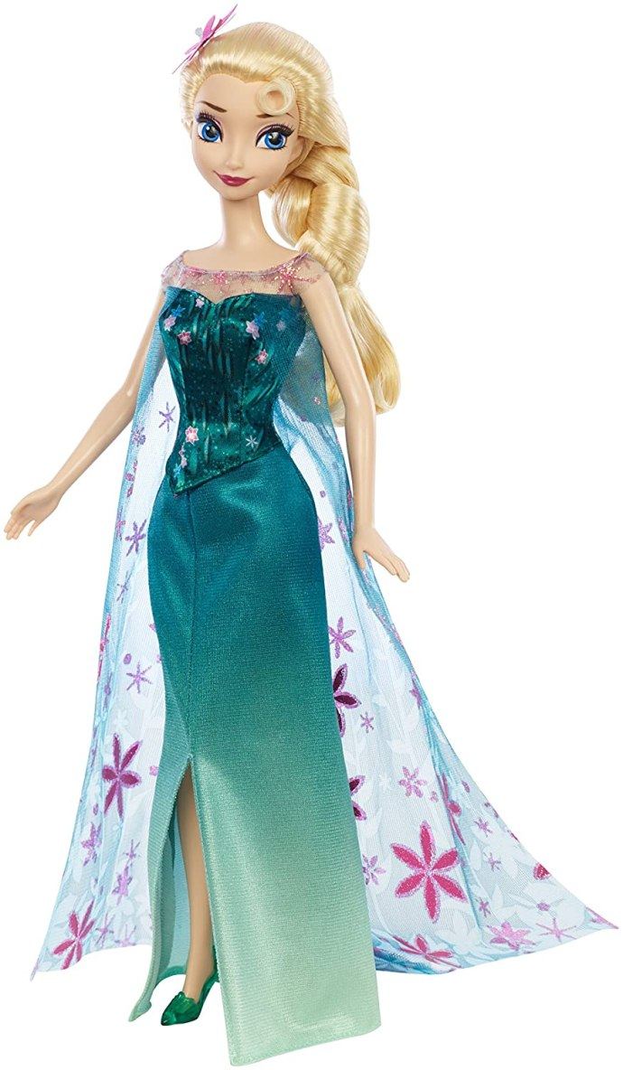 Mattel Disney Frozen Fever Birthday Party Elsa Doll (Discontinued by manufacturer)