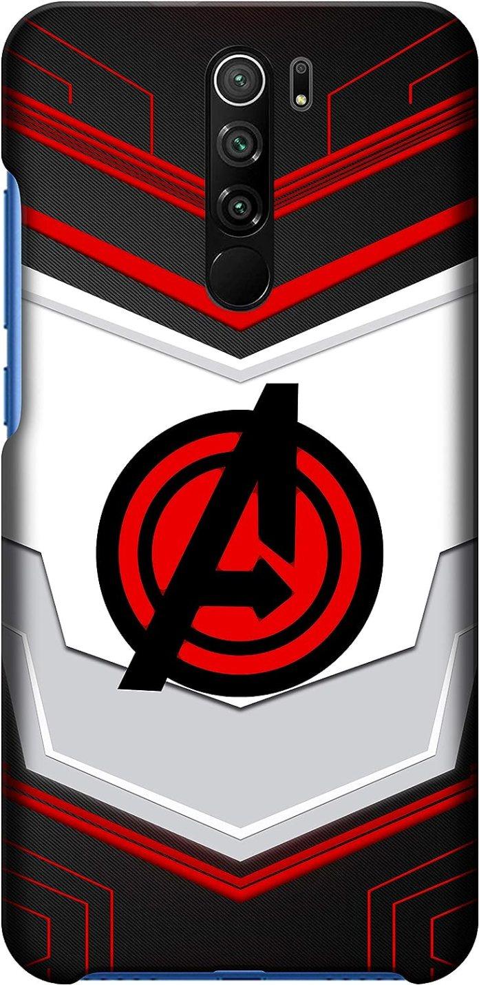 Redmi 9 Prime Back cover