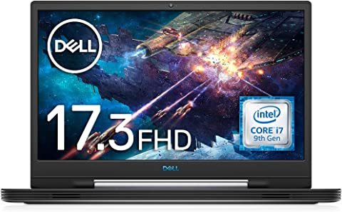 Dell ゲーミングノートパソコン G7 17 7790 Core i7 ダークグレー 20Q22/Win10/17.3FHD/16GB/256GB SSD+1TB HDD/GTX1660Ti