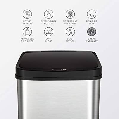 Automatic-Motion-Sensor-Trash-Can