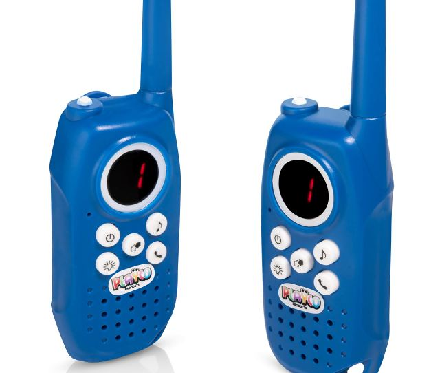 Playco Products Walkie Talkies For Kids 2 Mile Range Crystal Clear Sound Flashlight Belt Clip Keep It Simple With Our Easy To Learn 3 Channel Design