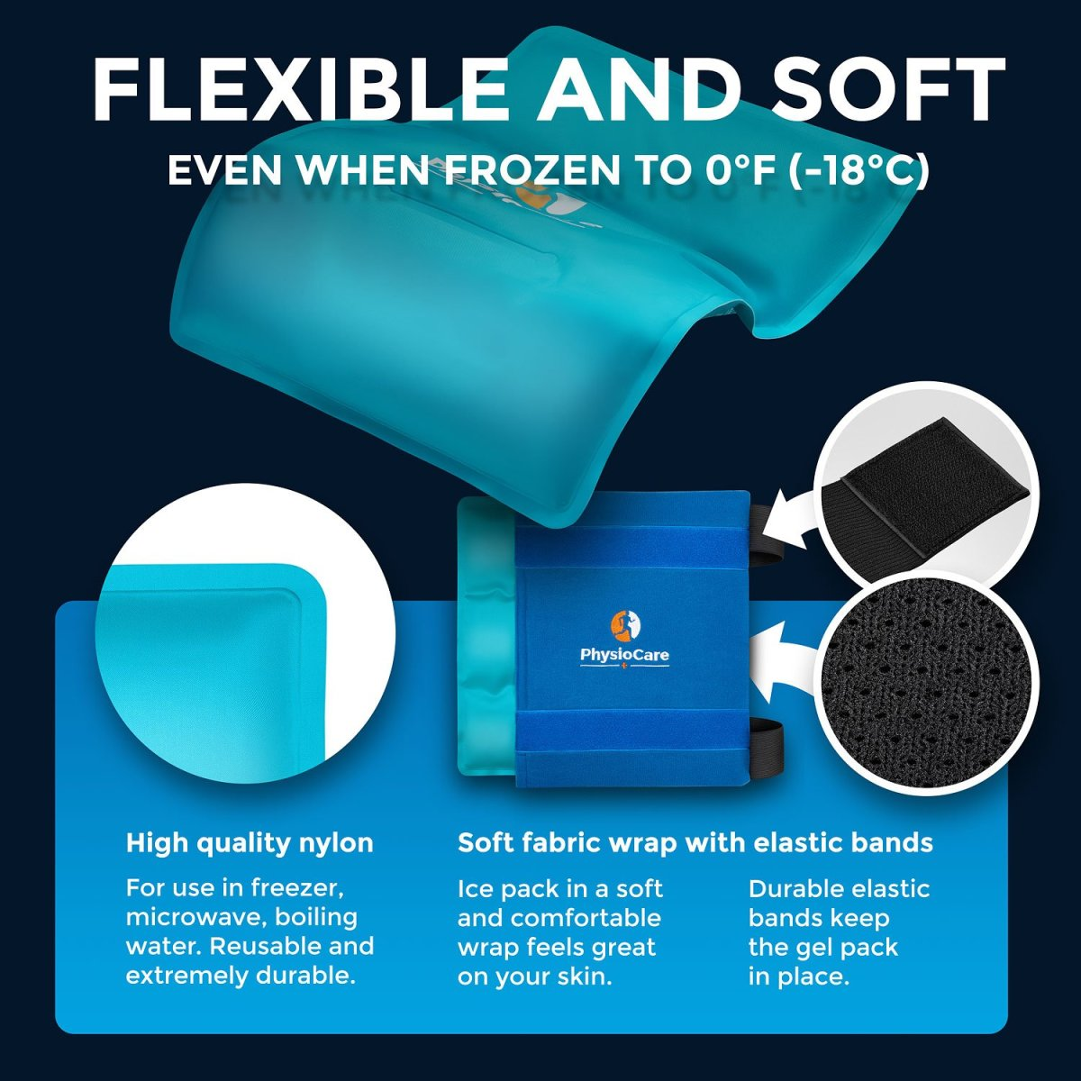 Image result for Large Flexible Gel Ice Pack & Wrap