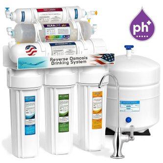 ROALK5D 10-Stage Alkaline Reverse Osmosis