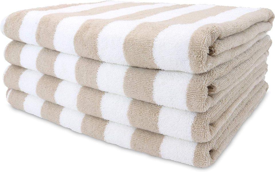 striped cabana beach towels