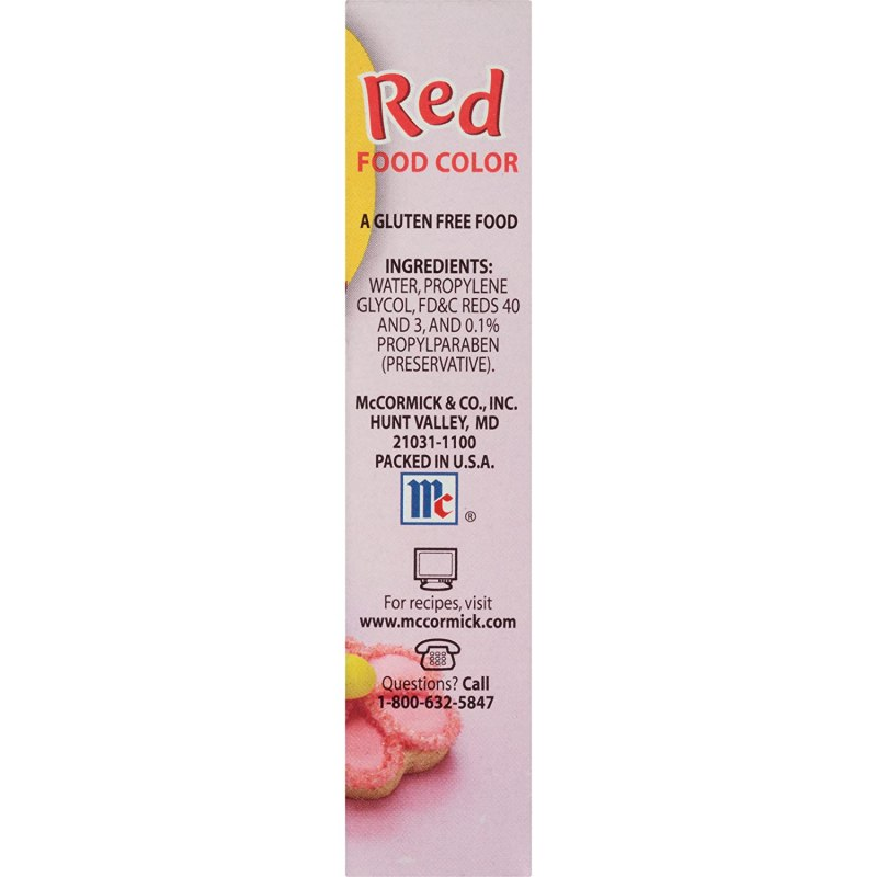 Is Mccormick Neon Food Coloring Gluten Free | Foodfash.co