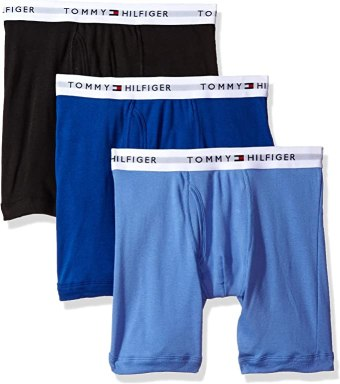 Tommy Hilfiger Mens 3-Pack Cotton Boxer Brief