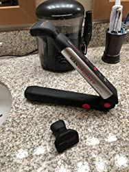 MANGROOMER Ultimate Pro Back Shaver with 2 Shock Absorber Flex Heads, Power Hinge, Extreme Reach Handle and Power Burst Customer Image