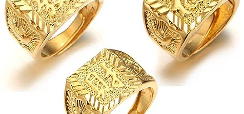 002f3516de08 Los mejores 10 Anillos Hombre Oro 18K - Guía de compra