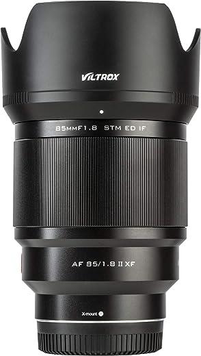 VILTROX 85mm f1.8 Mark II for Fuji x Mount 85mm ii Lens AF Auto Lens Portrait Fixed Focus Lens for Fujifilm Fuji X Mount Camera X-T3 X-T2 X-T30 X-T20 X-T10 X-T100 X-PRO2