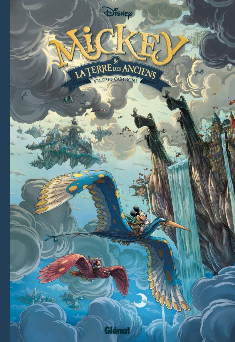 Copertina dell'edizione francese di Mickey e la Terra degli Antichi.