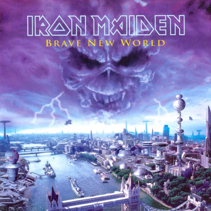 Image result for Iron Maiden – Brave New World
