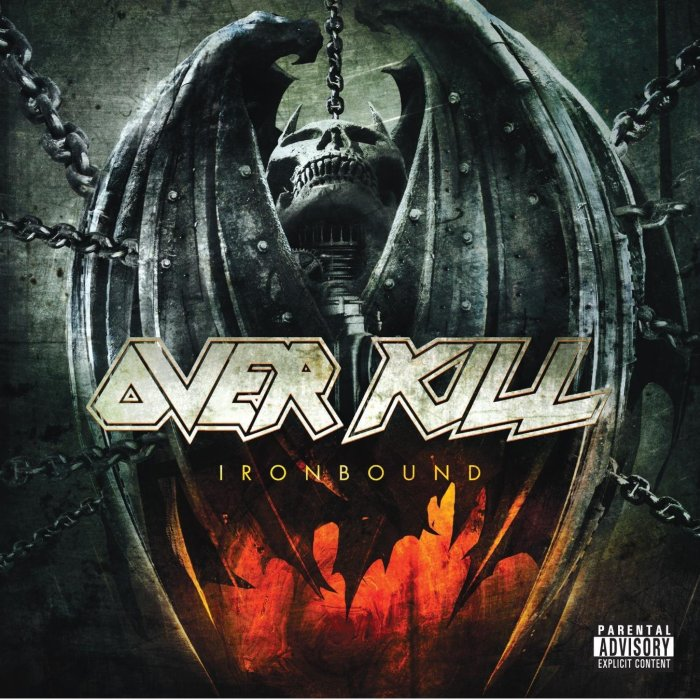 Image result for OVERKILL - IRONBOUND
