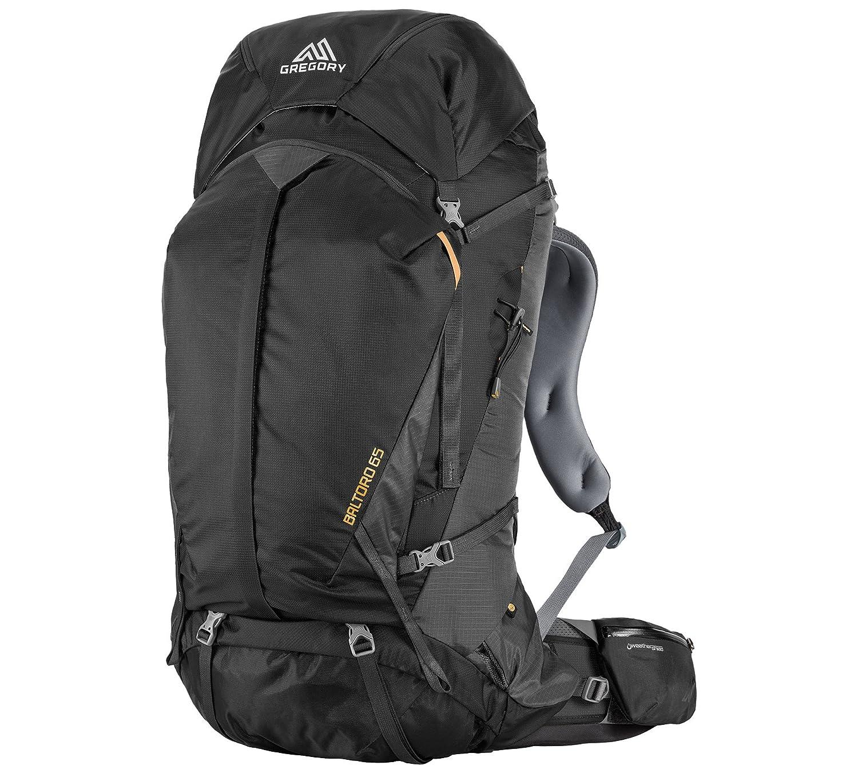 Gregory Mountain Products Baltoro 65 Liter Men's Backpack, Shadow Black, Medium