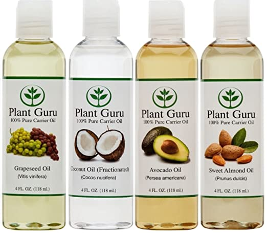 Plant Guru Carrier Oil Collection