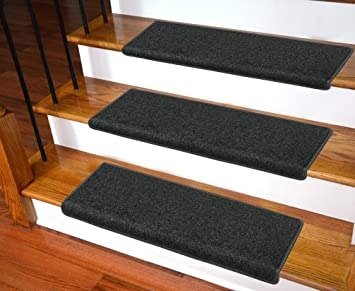 Carpet Stair Treads – Non Slip Bullnose Carpet For Stairs – Indoor | Installing Carpet Stair Treads | Anti Slip | Bullnose Carpet | Stair Risers | Indoor Stair | Wooden Stairs