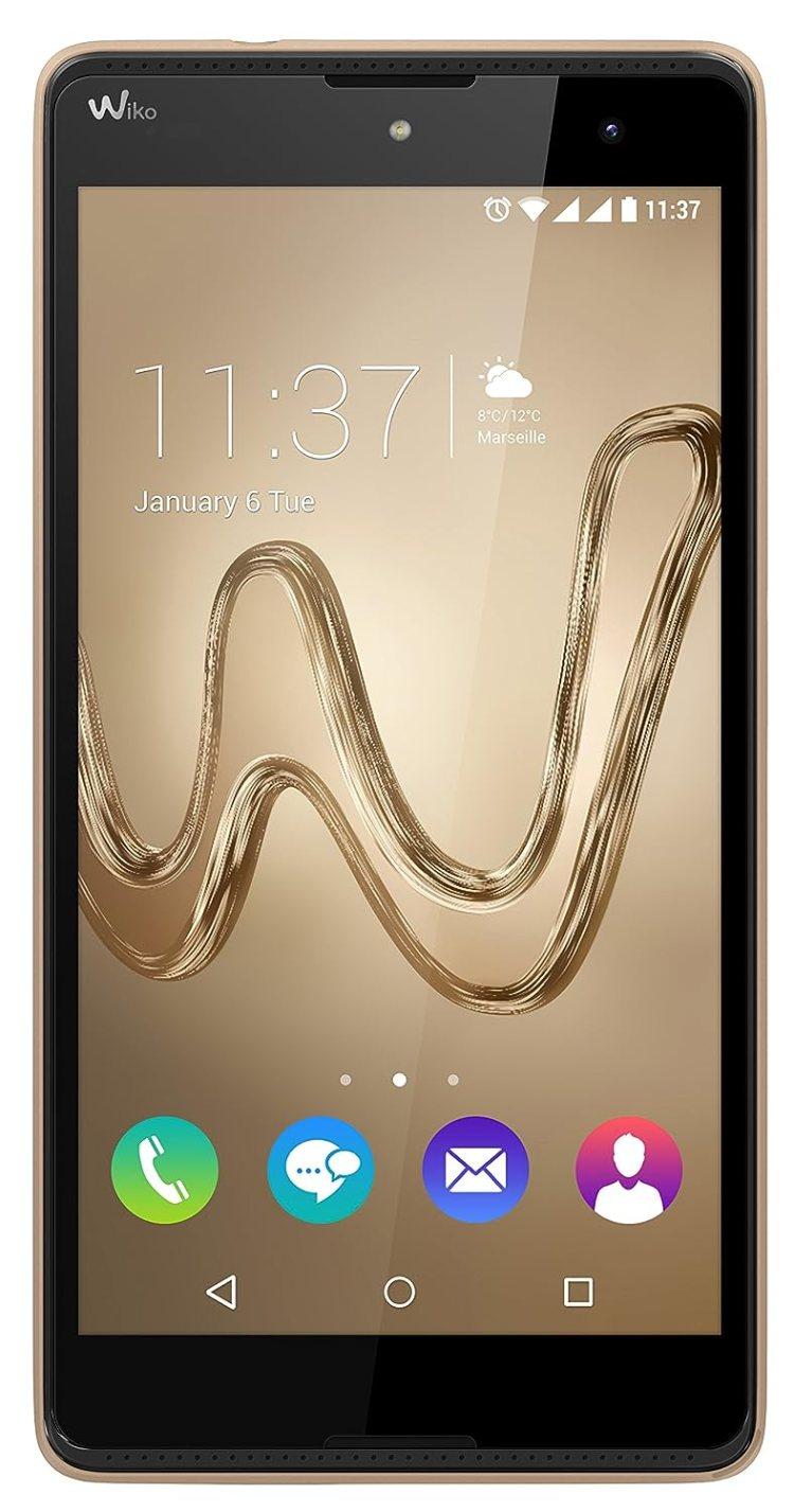 Wiko Robby 16GB Oro - Smartphone (SIM doble, Android, MicroSIM, EDGE, GPRS, GSM, HSPA+, HSUPA, WCDMA, Micro-USB)
