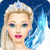 Ice Queen Salon: spa, makeup and dress up princess for girly girls who love fashion games