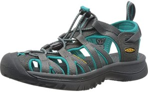 KEEN Women's Whisper Sandal,Dark Shadow/Ceramic,8 M US