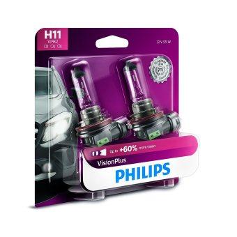 Philips VisionPlus Upgrade Headlight Bulb
