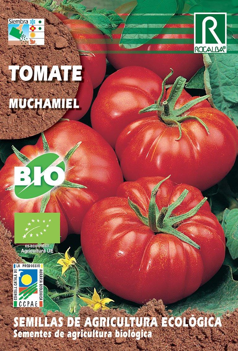 Semillas ECOLOGICAS Tomate Muchamiel 0,5 gr.