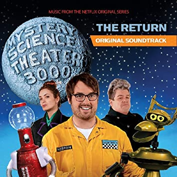 """Mystery Science Theater 3000:The Return: Original Soundtrack (Music from the Netflix Original Series) (Limited Blue-Grey """"Satellite of Love"""" Vinyl Edition)"""