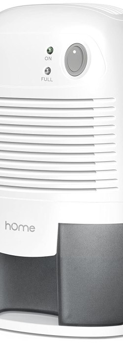 Home Small Appliance with 16 oz Capacity Mini Quiet Safe Compact Thermoelectric Energy Efficient Dehumidifier Air Purifier